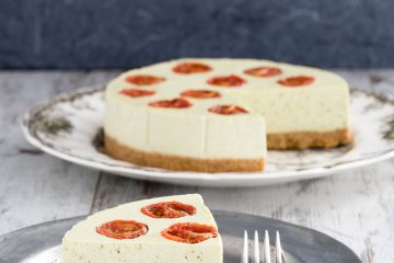 cheesecake salata al pesto