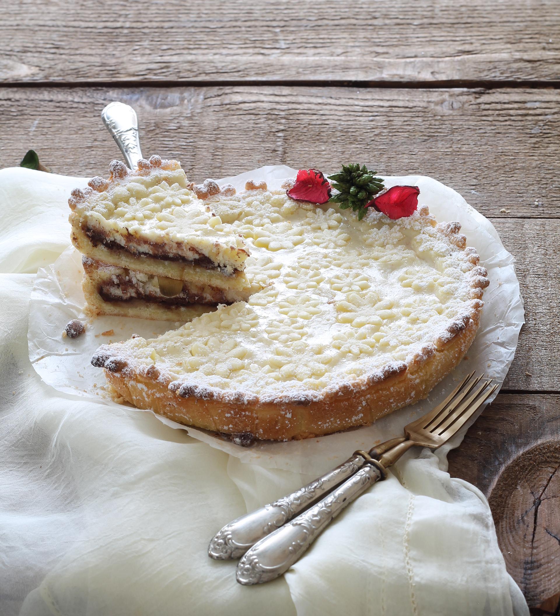 Crostata con ricotta gluten free