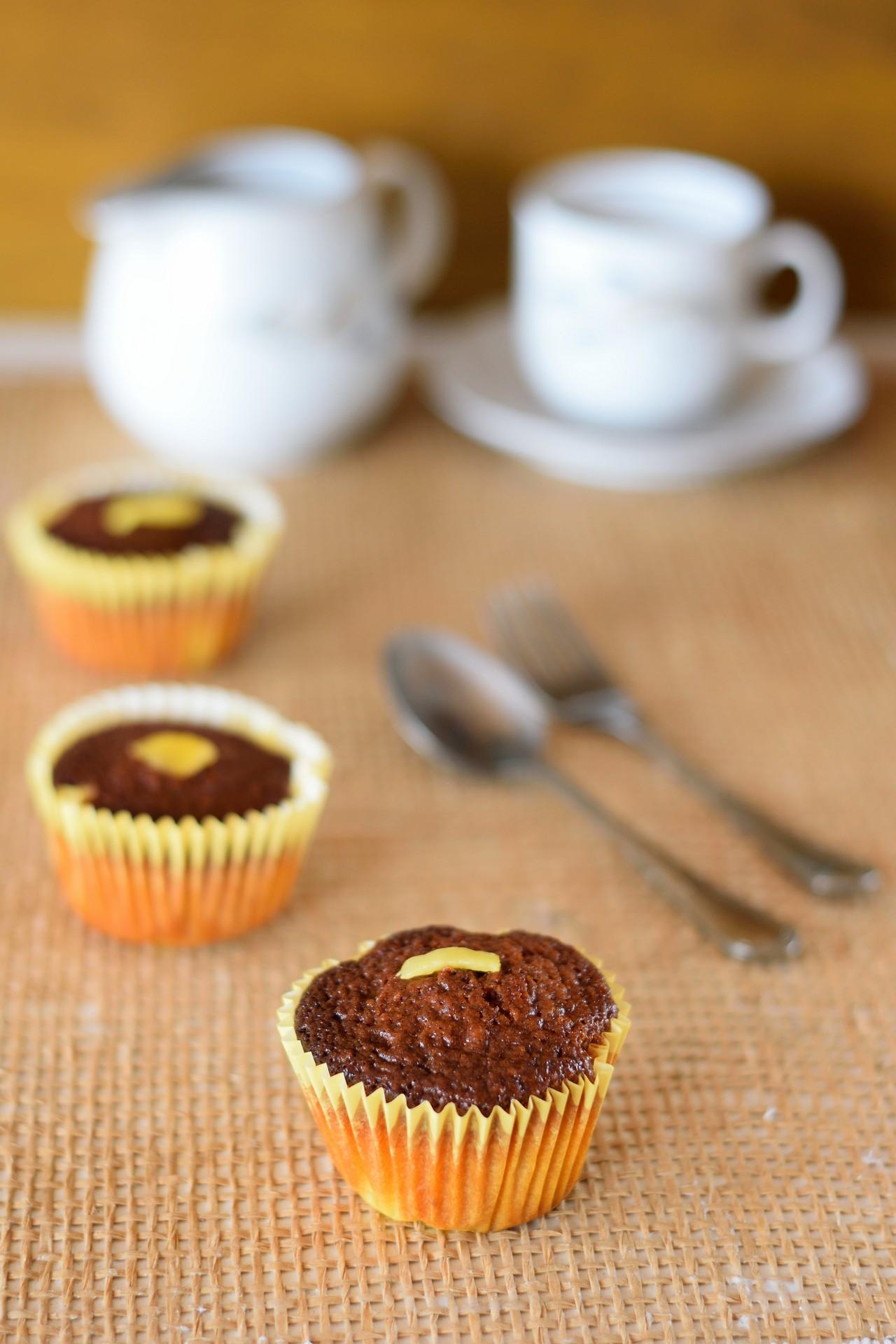 muffin allo yogurt con cocco e mango