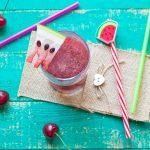 frullato conanguria e ciliegie