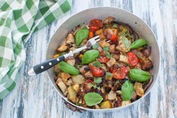 Ratatouille di verdure facile al forno