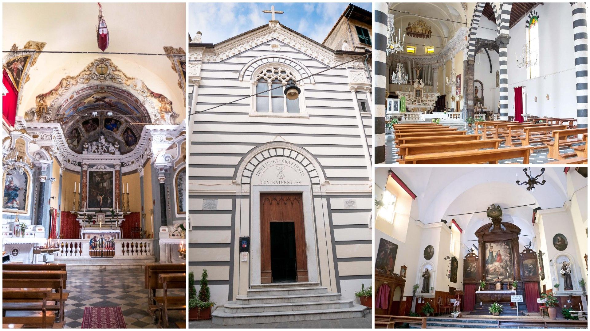 edifici religiosi Monterosso al Mare