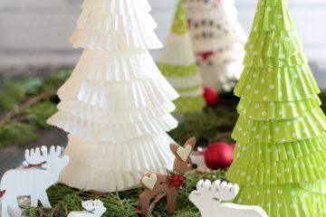 Alberelli di Natale con pirottini