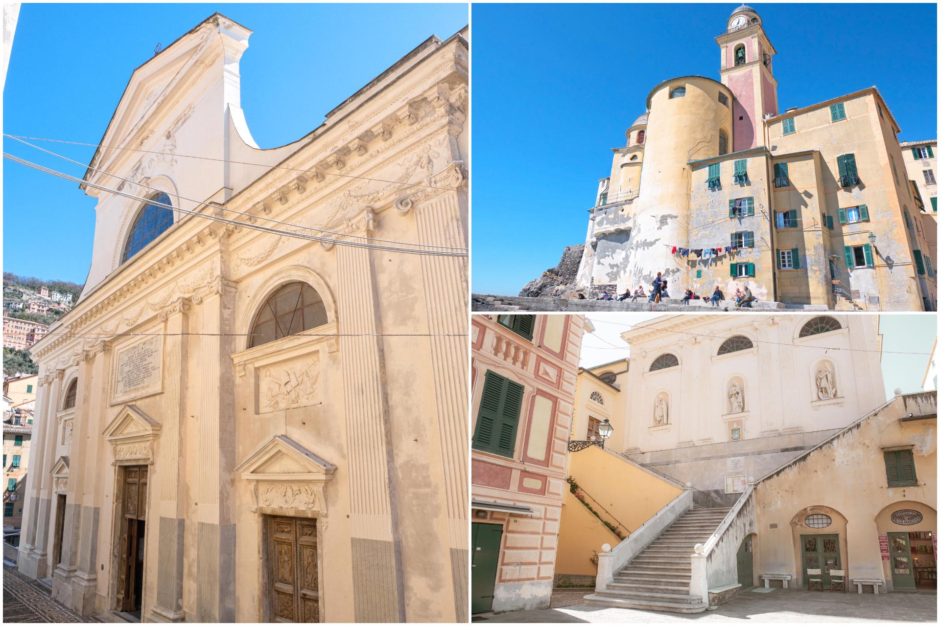 Basilica Santa Maria Assunta Camogli