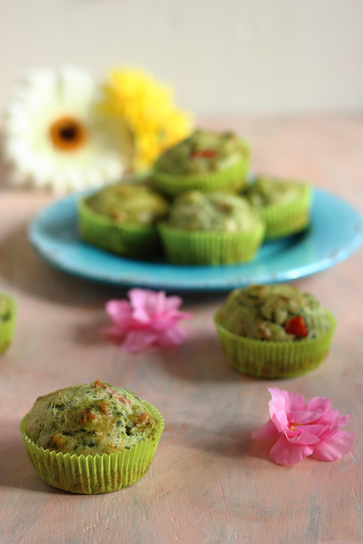 muffin-ortiche-peperoni-e-piselli