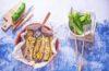friggitelli ripieni con couscous e tonno